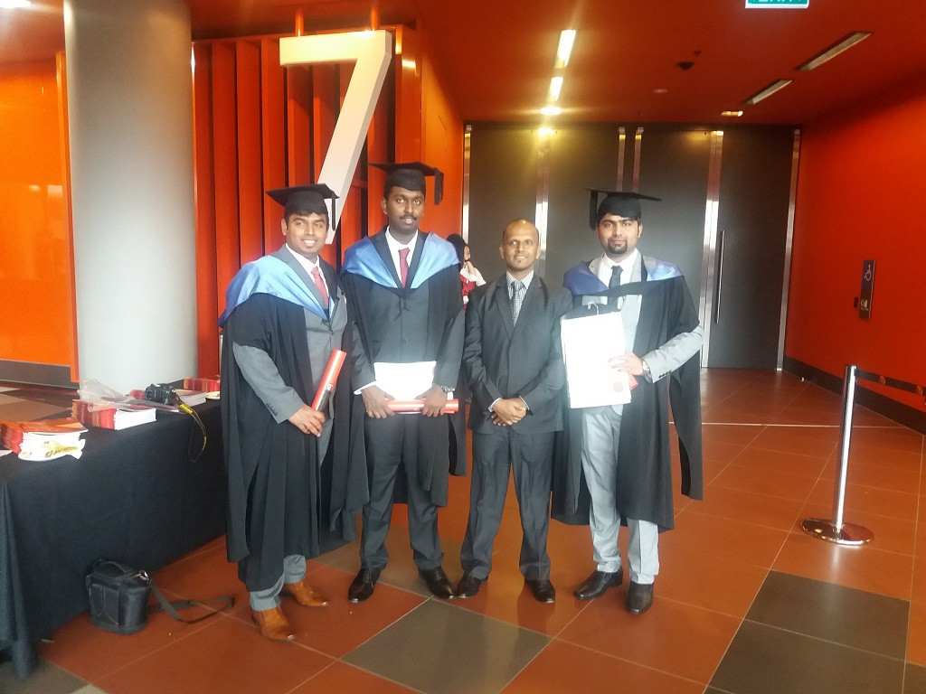 Graduation Ceremony - 2016, Swinburne University of Technology, Melbourne.