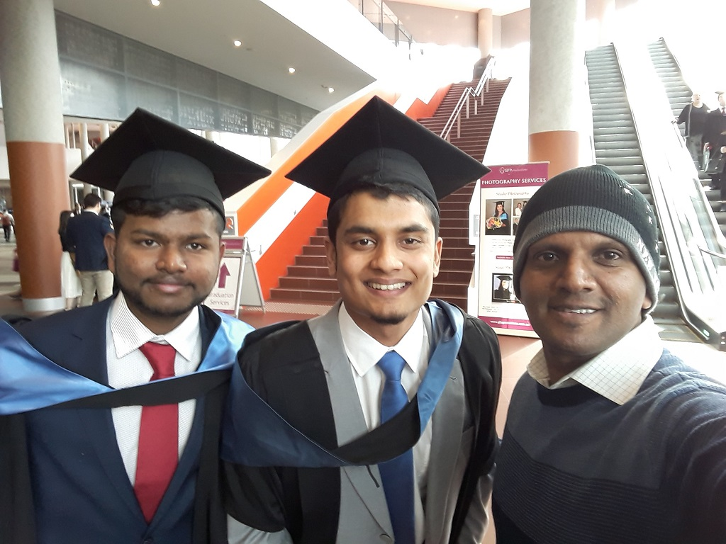 Graduation Ceremony-2017, Swinburne University of Technology, Melbourne.