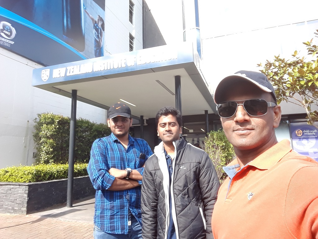 At New Zealand Institute of Education