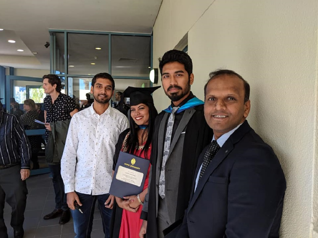Graduation Ceremony-2018, Bond University.
