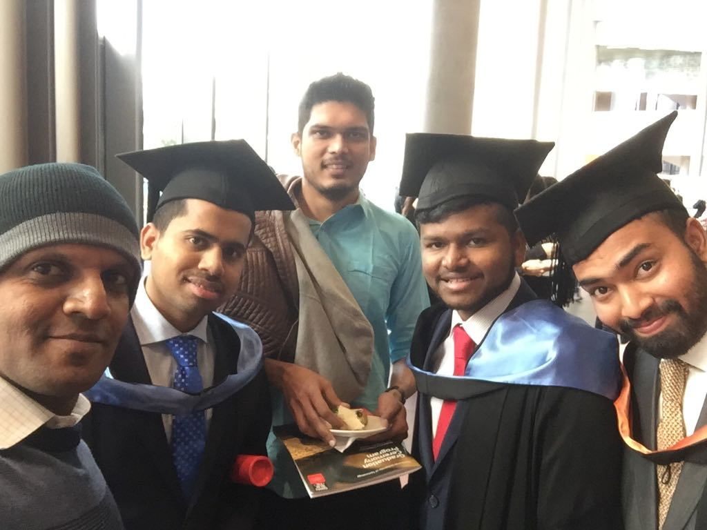Our Director with our Students Graduation